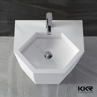 Speical Design White Marmorbecken KKR-1399
